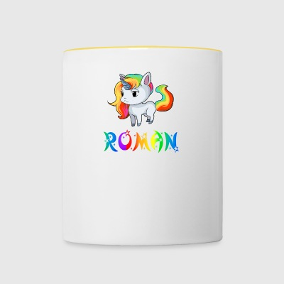 Unicorn novel - Contrasting Mug