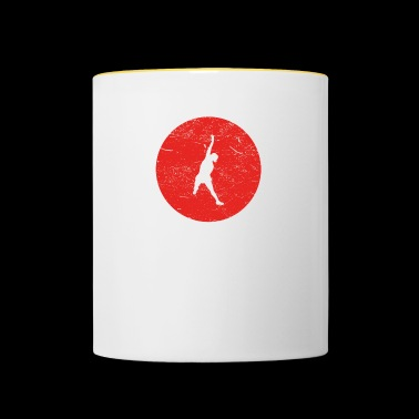 Gift volleyball beach volleyball beach - Contrasting Mug