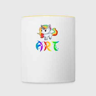 Unicorn Art - Contrasting Mug
