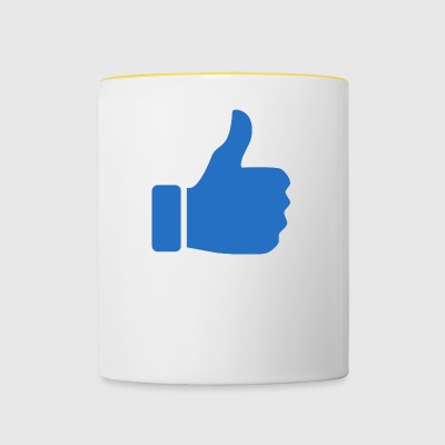 thumbs up - Contrasting Mug