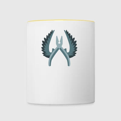 CT Logo - Cs:go artwork - Tasse bicolore
