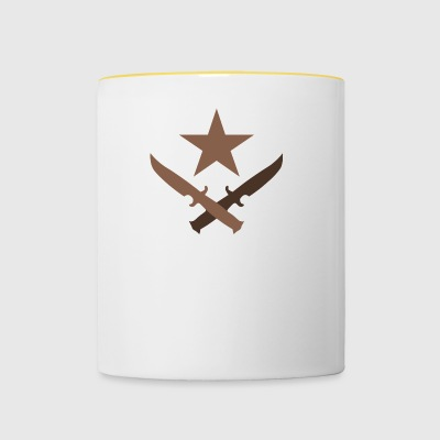 T Logo - Cs:go artwork - Tasse bicolore