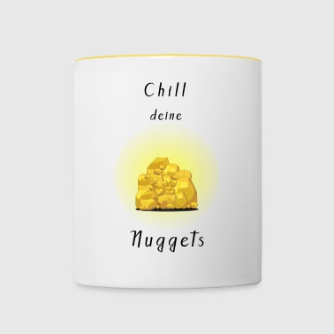 Chill your nuggets - Contrasting Mug