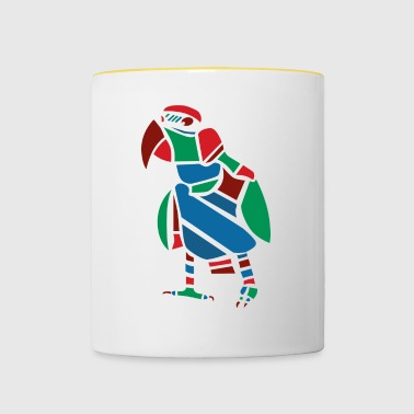 Parrot Vector graphic - Contrasting Mug