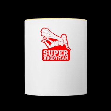 Super Rugby player - Contrasting Mug