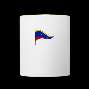 Venezuela. South America. Flag. National Colors. flags - Contrasting Mug