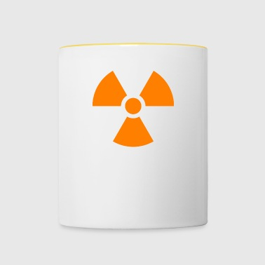 Nuclear sign - Contrasting Mug