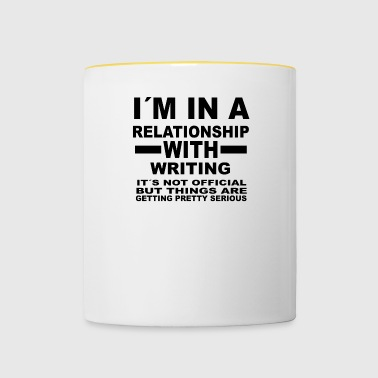 relationship with WRITING - Contrasting Mug