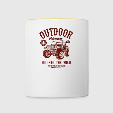 Outdoor adventure - Contrasting Mug