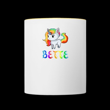 Unicorn beds - Contrasting Mug