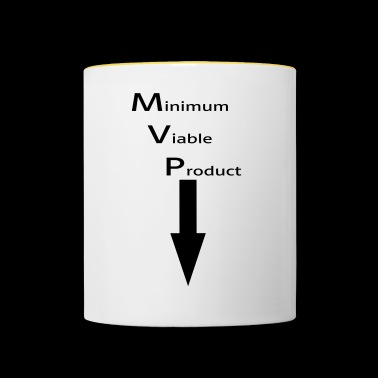 Minimum Viable Product for self-sucking - Contrasting Mug