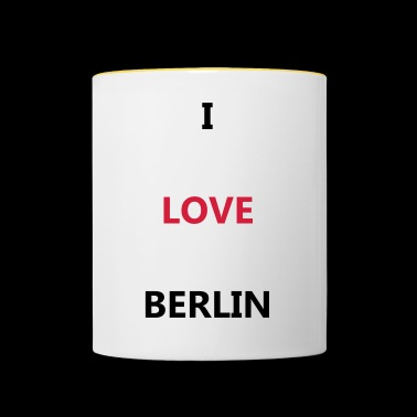 I love Berlin - Tazze bicolor