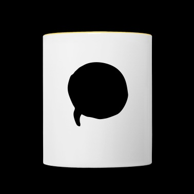 speech bubble - Contrasting Mug