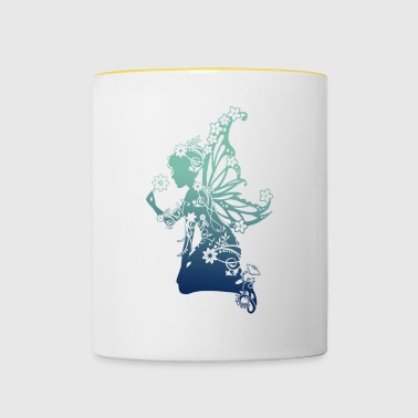Flower elf GB - Contrasting Mug