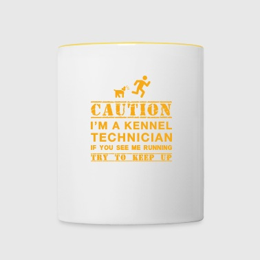 Caution Kennel Technician - Mok tweekleurig