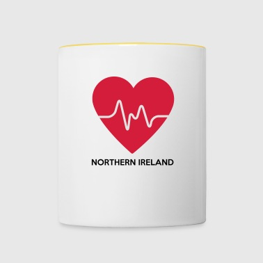 Heart Northern Ireland - Contrasting Mug