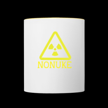 No nuclear weapons - Contrasting Mug