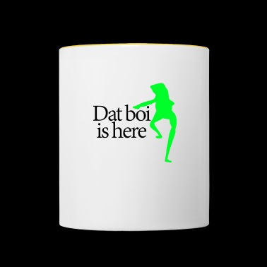Dat boi shirt Black writing - women - Mug contrasté