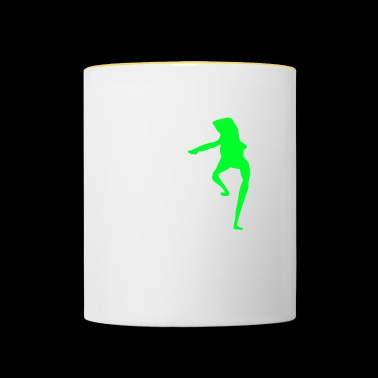 Dat boi shirt white writing - men - Mug contrasté