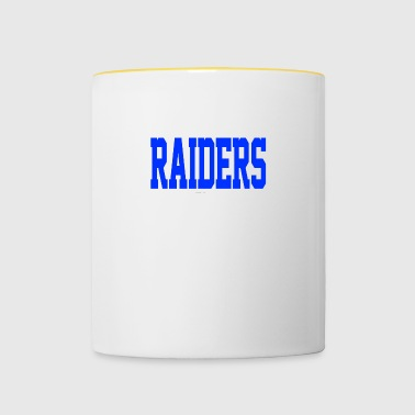 Stevens Raiders with horse - Contrasting Mug