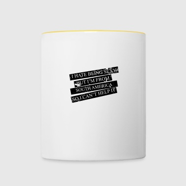 Motive for cities and countries - SOUTH AMERICA - Contrasting Mug