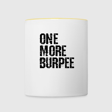 One More Burpee Vector - Contrasting Mug