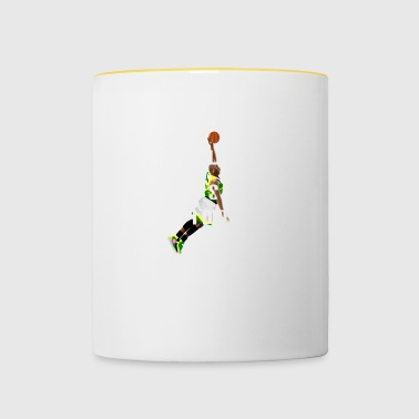 Basketball Shirt - cool dire - sports de balle, sports - Mug contrasté