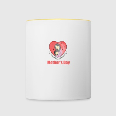 Mother's Day - Mother's Day - Contrasting Mug