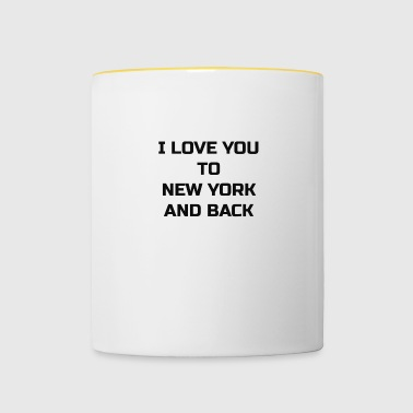 New York Love - Kubek dwukolorowy