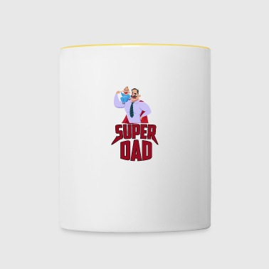 SUPER DAD - Tofarget kopp