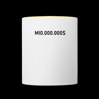 Millioner-million-million dollar design - Tofarvet krus