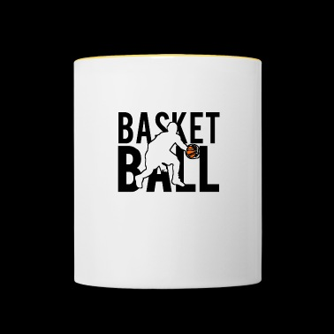 BASket ball - Contrasting Mug