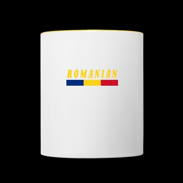 I speak Romanian Romania Patriot - Contrasting Mug