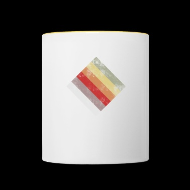 rectangle - Mug contrasté