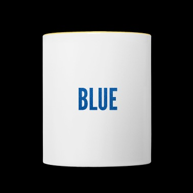 Royal blue / royal blue - Contrasting Mug