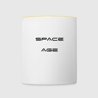 Space Age - Mok tweekleurig