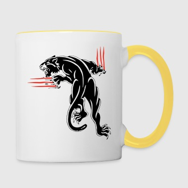 animal scratches - Contrasting Mug