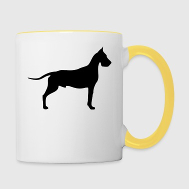 great dane - Contrasting Mug