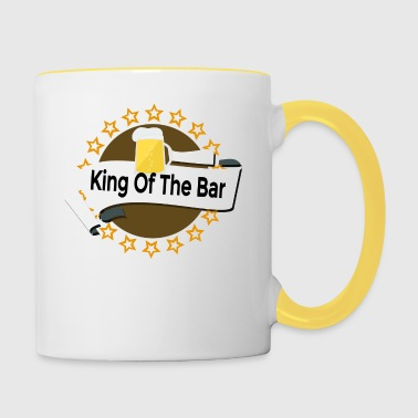 King of the Bar - Kubek dwukolorowy