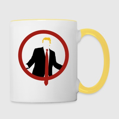 Trump Shield Tie - Tofarget kopp