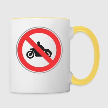 No motocycles - Contrasting Mug