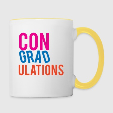 High School / Graduation: Congratulations - Contrasting Mug