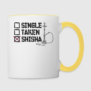 SINGLE TAKES SHISHA - Contrasting Mug