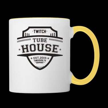TubeHouse Team College Merch - Mok tweekleurig