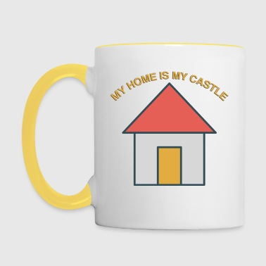 My Home is my Castle - Contrasting Mug