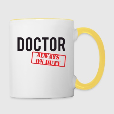 Doctor / Doctor: Doctor - Always On Duty - Contrasting Mug