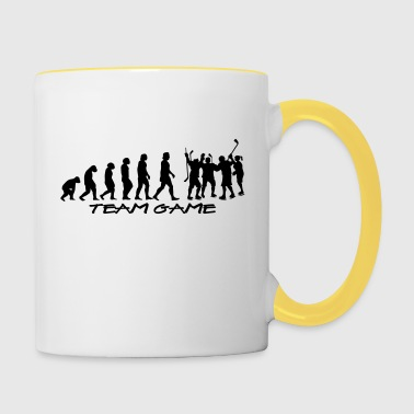 team_game - Tasse bicolore
