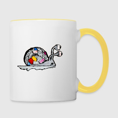 The snail of the end of the childhood - Contrasting Mug