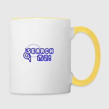 Search Me - Design 2 - Contrasting Mug