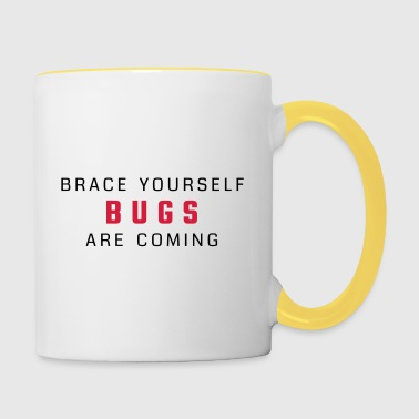 Brace yourself - bugs are coming - Contrasting Mug